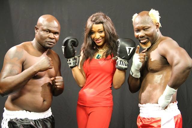 Bukom Banku (left) & Ayittey Powers (right)