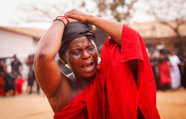 Image result for crying nigerian woman