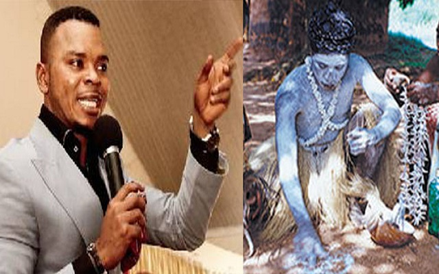 Obinim (left) & Okomfo Yaw Appiah