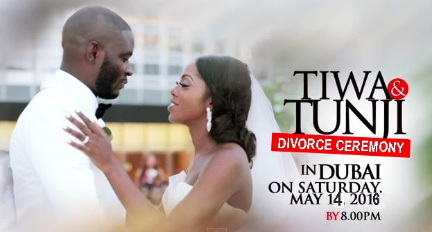 Tiwa Savage & TeeBillz's Divorce Ceremony Invitation