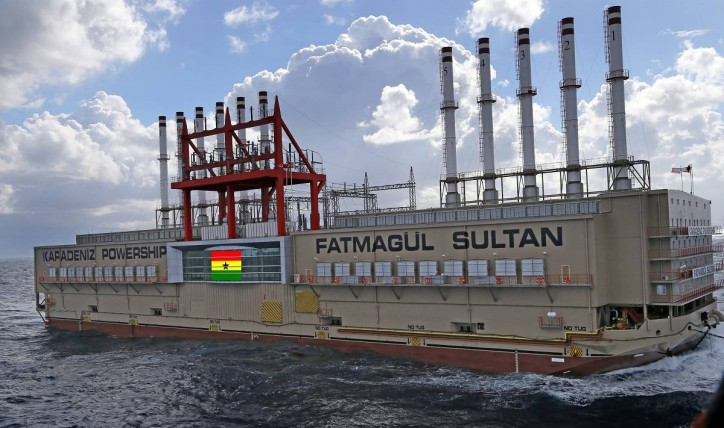 Ghana Power Barges