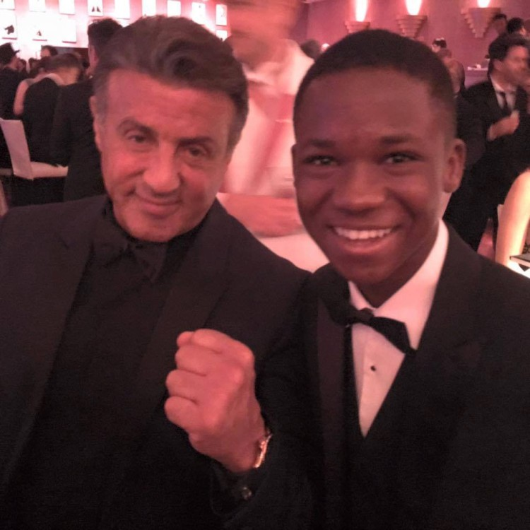 John Rambo and Abraham Attah